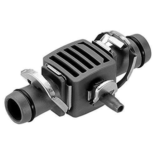 Gardena 8333-20 Pieza de reducción en T para Las boquillas de pulverización del Tubo de conexión, Negro, Plata, 13 mm (1/2') y 4,6 mm (3/16') x 5 uds