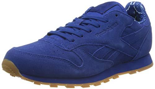 Reebok Unisex-Kinder Classic Leather TDC Sneaker, Blau (Blue Bd5052), 38 EU