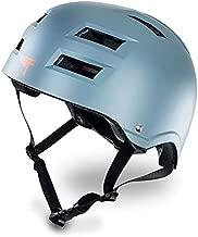 Flybar Dual Certified CPSC Multi Sport Kids & Adult Bike And Skateboard Adjustable Dial Helmet,Grey,L-XL