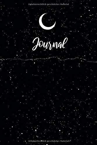 Journal: Notizbuch A5 Dotted: Dot Grid Notebook - Journal gepunktet - 120 Punktraster Seiten - Blanko Heft Für Bullet Journaling- Softcover - Sterne