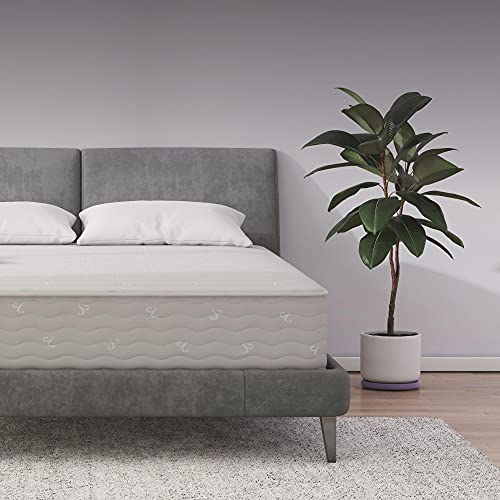 Signature Sleep Contour 10' Reversible Mattress, Independently Encased Coils, Bed-in-a-Box, Queen