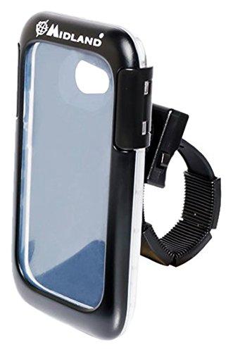 Midland MMKSMARTHC beschermhoes en houder voor fiets GPS/Apple iPhone 4/5 / Samsung Galaxy S3, zwart
