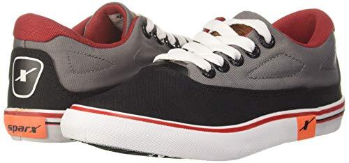 Product Image 2: Sparx Men's Black Grey Sneakers