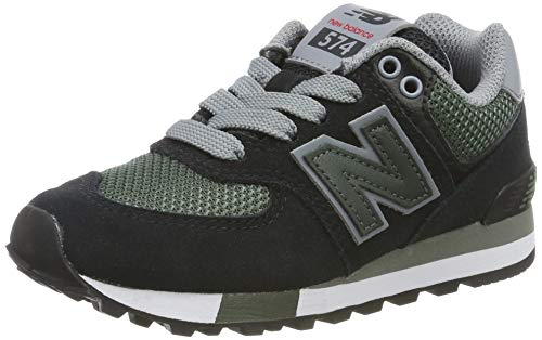 New Balance Jungen Pc574v1 Sneaker, Schwarz (Black Black), 32 EU