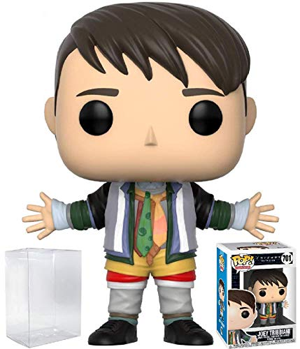 Funko Pop! Television: Friends - Joey Tribbiani in Chandler's Clothes Vinyl Figure (Bundled with Pop Box Protector Case)