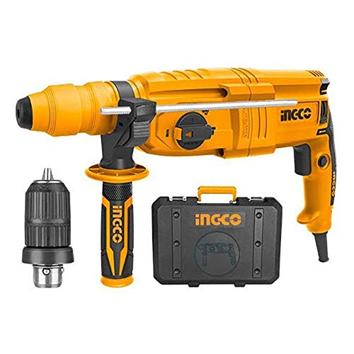 Trapano Tassellatore con mandrino + accessori - RGH9028-2 INGCO - 800W