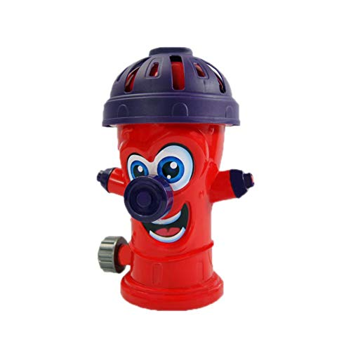 thelastplanet Outdoor Sprinkler Splash Toy, Brandkraan Sprinkler Speelgoed Roterend Waternevel Speelgoed Zomer Familie Kinderen Buiten Plezier