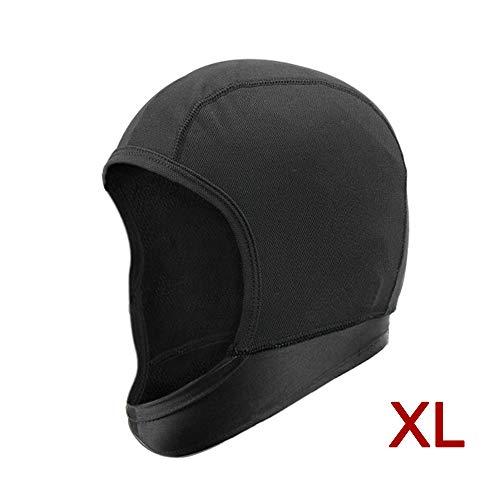 KKmoon Motorrad Gesichtsmaske Helm Liner Atmungsaktive staubdichte Maske Helm Gesichtsmaske XL
