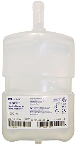 Kendall Respiflo Steriles Wasser für Inhalation, 1000 ml