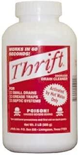 Thrift T-200 Drain Cleaner, 2-Pound by Thrift