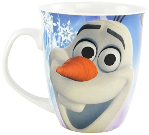 Disneys die Eiskönigin Tasse: Olaf und Sven 350 ml, weiss