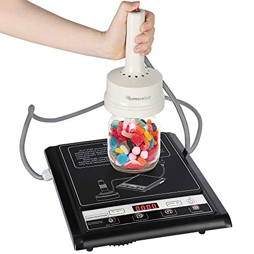 Mxmoonant Handheld Induction Sealer Manual Induction Bottle Cap Sealing Machine 15-100mm Portable Jar Heat Sealer for Plastic Glass Bottles GLF-500F (110V)