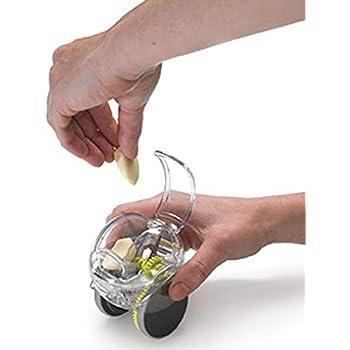Cozyhoma Prensa de ajo Chopper Slicer Prensador de Mano Rectificadora de Rectificado Práctico Cortador de la Máquina de Ajo Suministros de Cocina