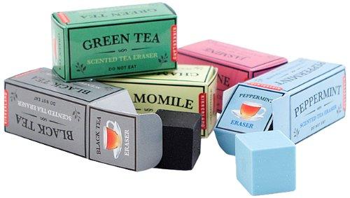 Kikkerland Tea Scented Erasers