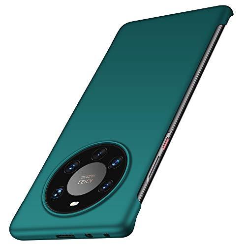 anccer Kompatibel mit Huawei Mate 40 Pro Plus Hülle [Serie Matte] Elastische Schockabsorption & Ultra dünnes Handyhülle Design für Huawei Mate 40 Pro Plus (Grün)