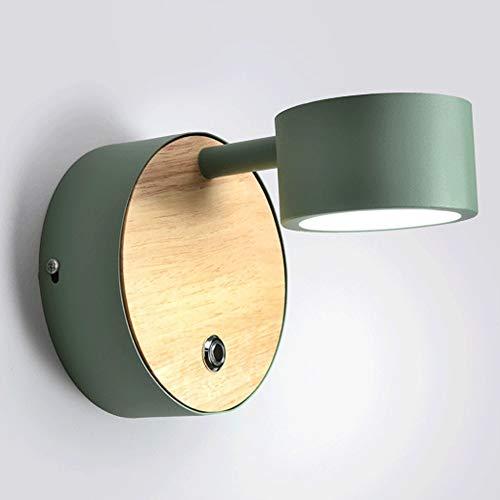 Touch wandlamp verlichting met ingebouwde lijn Touch Control schakelaar Macarons mat lak lamp bedlampje badkamer wastafel lamp