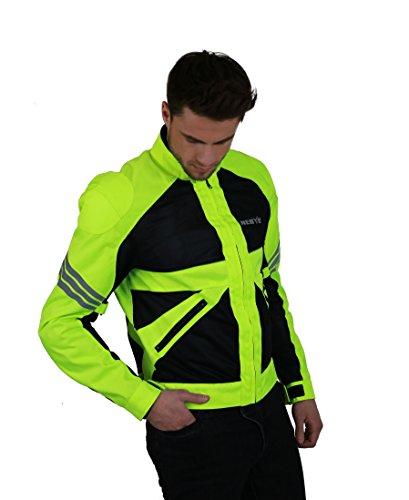 Nerve Go Sommer Motorradjacke, NeonGelb, XL
