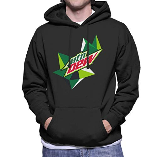MOUNTAIN Dew Original Logo Men's Hooded Sweatshirt