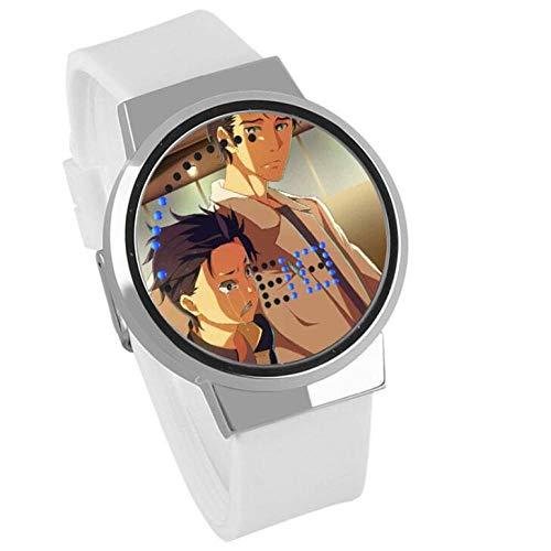 Armbanduhren Vom Beginn Der Welt Verschiedene Leben Remram Kinder Wasserdicht Leuchtende Uhr Touchscreen Led Elektronische Uhr,Weiß 1