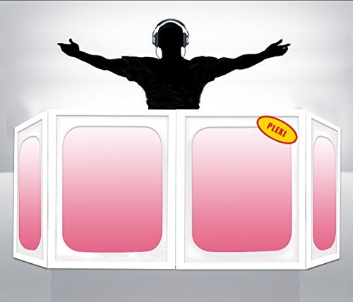 Why Choose DJ Facade/Booth:Dragon Frontboards: Nagatoo 4 Panel / White Frame W/PLEXI