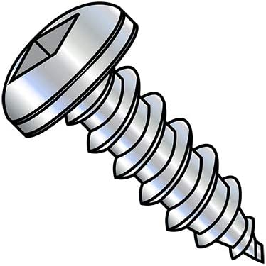 Max 54% OFF 6-18X2 Square Pan Self Tapping Screw Fort Worth Mall Threaded Zinc Type A Fully