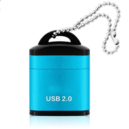YWSZJ Lector de Tarjetas USB Micro SD/TF USB 2.0 Mini Lector...