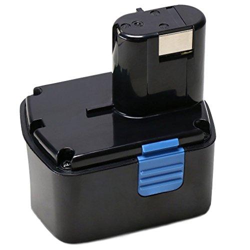 Baterias EB1414S,POWERAXIS EB14B EB1426H 14.4V 3.0Ah Ni-MH Batería para Hitachi EB1412S EB1414 EB1414L EB1414S EB1420RS EB1424 EB1426H EB1430H EB1430R EB1430X EB14B EB14H EB14S