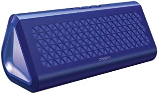 Creative Airwave Portable Wireless Bluetooth Speaker with NFC (Blue)
