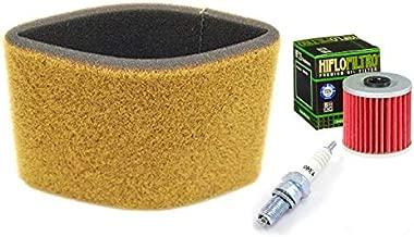 Tune Up Kit Air Filter Oil Filter Spark Plug ATV for Kawasaki Bayou KLF220 KLF250