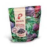 PlantLife Rodajas de ciruela BÍO 1kg – ciruelas pasas naturales – crudas – sin hueso y secadas al sol - 100% reciclable