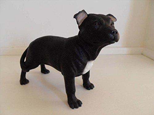 Leonardo Collection Bull Terrier Noir 13 x 5 x 10 cm