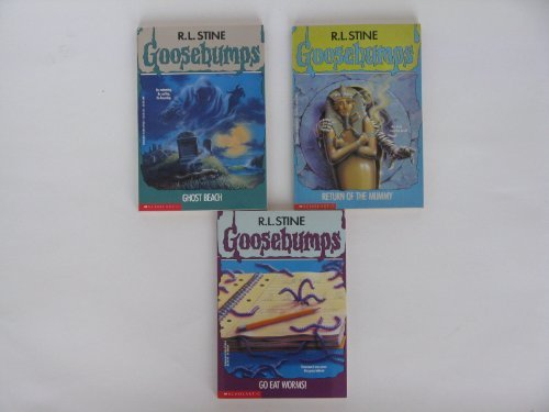 Goosebumps Boxed Set, Books 21 - 24:  Go Eat Worms!, Ghost Beach, Return of the Mummy, and Phantom of the Auditorium