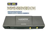 4台のHDMI機器を同時出力 HDMIセレクターHDS714(マルチビューワ)