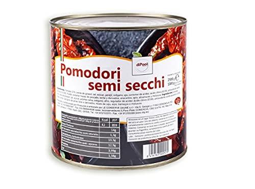 Conserva Italiana Di Paoli Tomates semisecos en aceite. Pack 6 X 2,5KG.