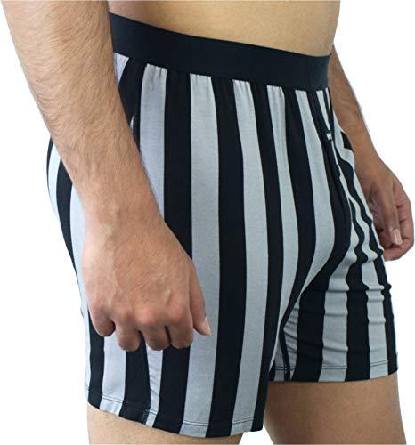 Nth Degree Yacht Club Back Stripe Boxer in Micro Modal
