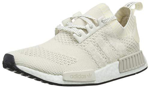 adidas NMD_R1 PK, Scarpe da Ginnastica Uomo, Bianco (ChalkWhite/ChalkWhite/Raw White ChalkWhite/ChalkWhite/Raw White), 47 1/3 EU