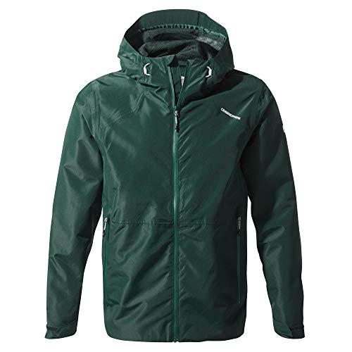 Craghoppers Balla Chaqueta Impermeable, Hombre, Mountain Green, Small