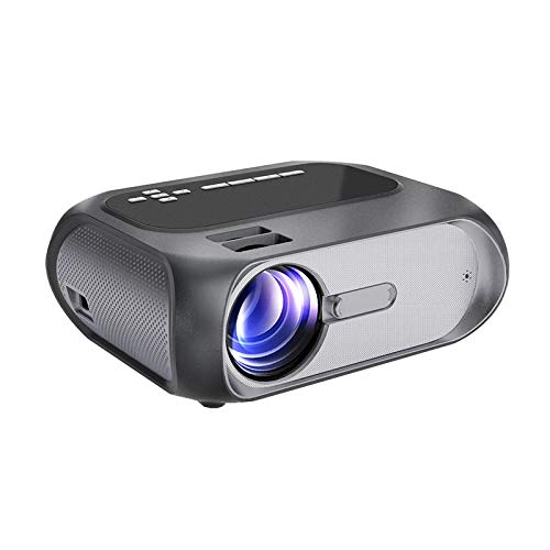 Mini Home Projector, Portable 720p Hd Picture Quality, Suitable for Home Theater Entertainment, Outdoor Theater Online Class, Hdmi, Vga, Usb Interface Complete Best Girt for Friends StandardEdition