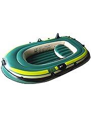 Whiteswan Kayak - Bote hinchable de PVC, para 2/3 personas, Explorer Touring Drifting, buceo, remo, rafting, pesca