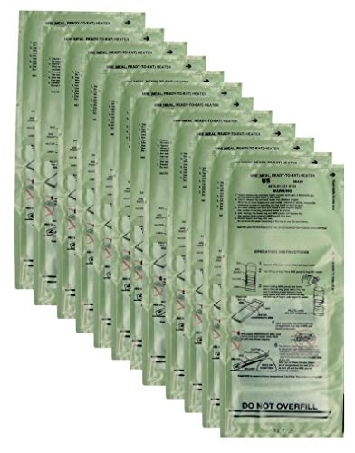 12-Pack of New Real Military Surplus Current Edition FRH Heaters (MRE heaters)