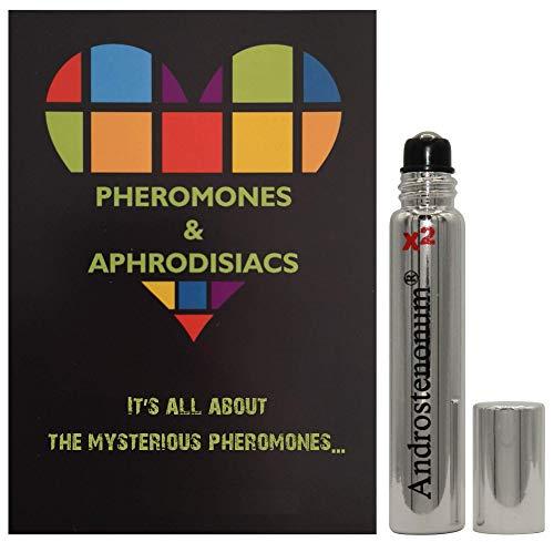 ANDROSTENONUM X2 100{b1c94e6ee9b2d730ac3fb71c6141100dc8053fa26d67c9d8fe7d2de838580833} Pheromon für Männer 8ml Roll-On Menschliche Pheromones Geschenk für ihn anziehen Frauen Aphrodisiaka Moleküle extra stark
