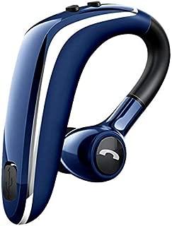 FairOnly Wireless Earphone Blueteeth 5.0 Headset Long Standby Business Driving Hanging Ear Headset IPX4 Waterproof Sports Headphone blue Electronics