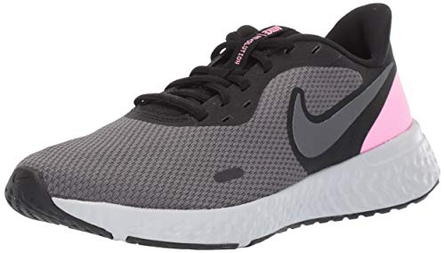 Nike Women's Revolution 5 Running Shoe, Black/Psychic Pink-Dark Grey, 8 Regular US