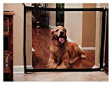 DEWEL Magic Gate Barrera de Seguridad Plegable Portátil para Perro Puerta de Seguridad aislada para Perros Mascotas