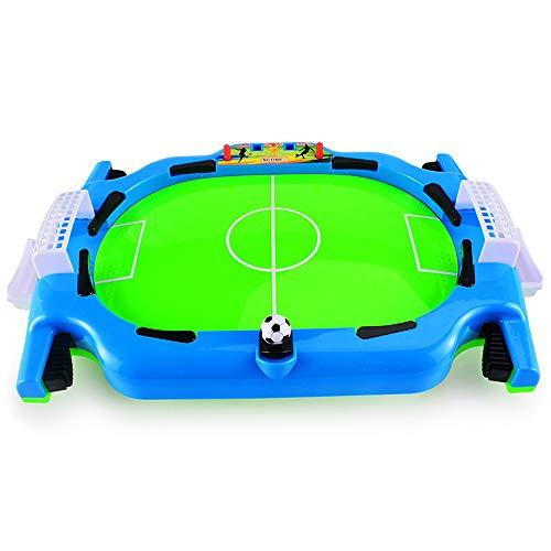 Doolland Mini Tavolo Calcio Spara Indoor Gioco Desktop Calcio da Tavolo Gioco per Bambini Sport Giocattoli Interattivi