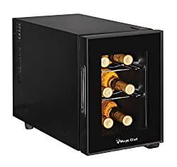 Magic Chef MCWC6B – 6 Bottle Wine Cooler
