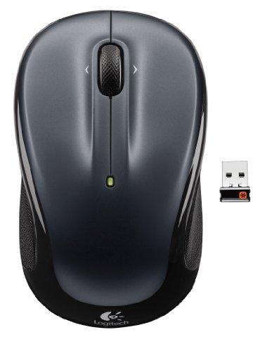 Logitech Wireless Mouse M325 Dark Silver...
