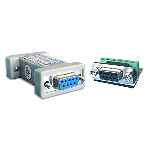 RS232 to RS485,LFHUKEJI RS-232 Female to RS-485/RS-422 485/422 Female Adapter Converter(Passive)