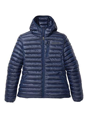 Marmot Wm's Avant Featherless Hoody Chaqueta aislante, abrigo para exteriores, anorak resistente al agua, resistente al viento, Mujer, Arctic Navy/ Arctic Navy, M