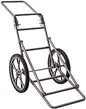 Goplus Folding Deer Game Cart Larger Capacity 500lbs Hauler Utility Gear Dolly Cart Hunting Accessories
